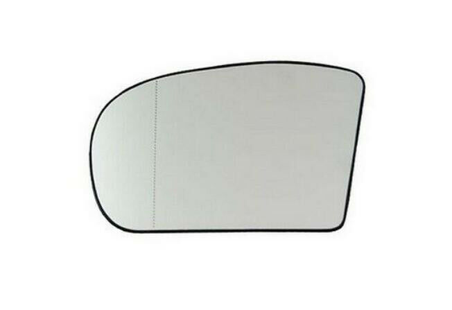 1 piece left side mirror glass wide angle heated for for Mercedes benz c300 side mirror glass