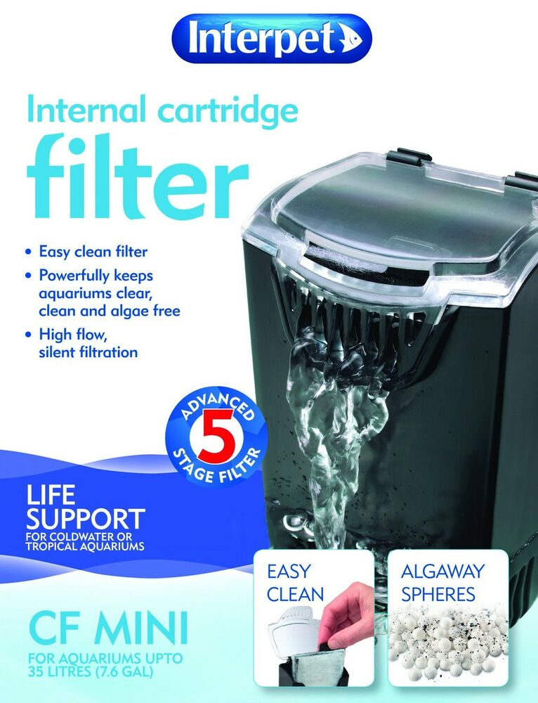 Interpet Internal Cartridge Filter Mini For Small Aquarium