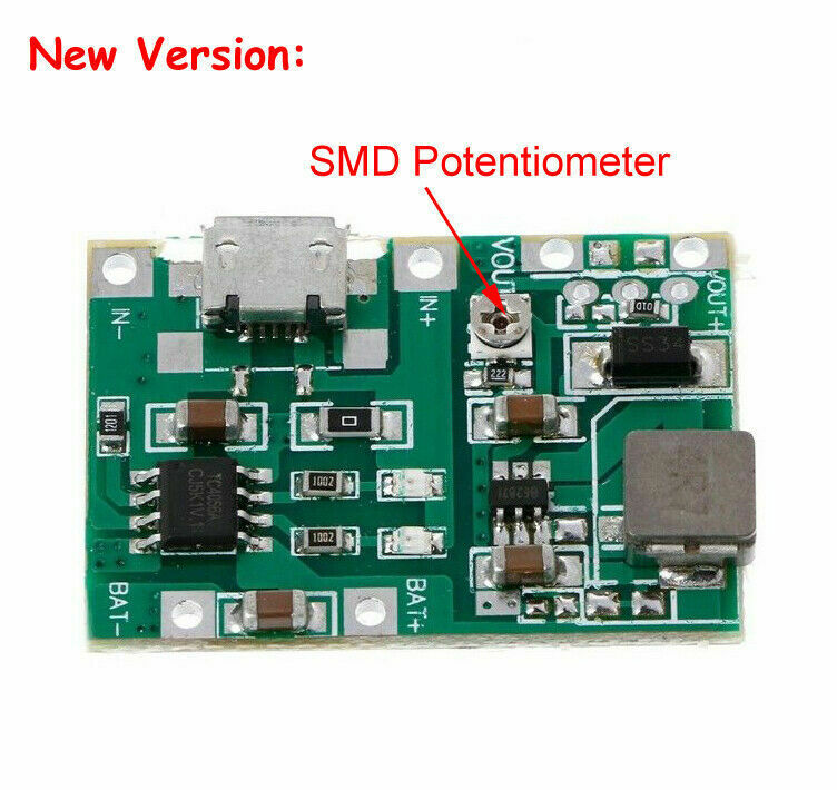 Stepup Converter With Adjustable Output Circuit Diagram Tradeofic