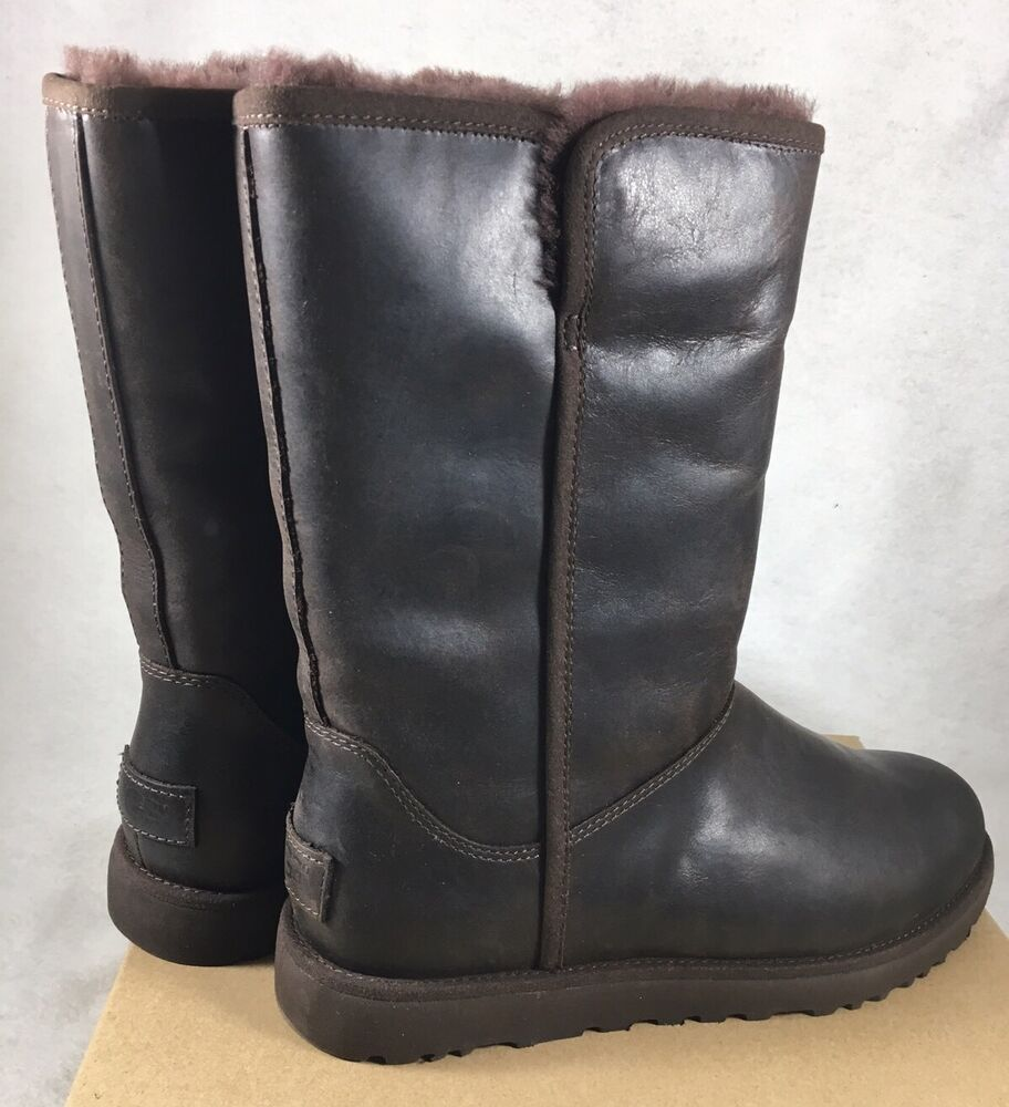 ugg leather sheepskin boots 249 water resistant
