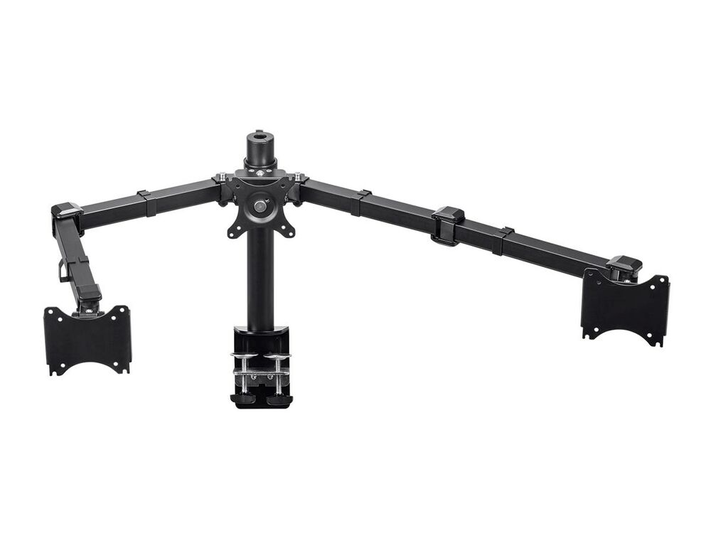 10 Quot To 30 Quot Triple 3 Screens Lcd Monitor Desk Mount Stand
