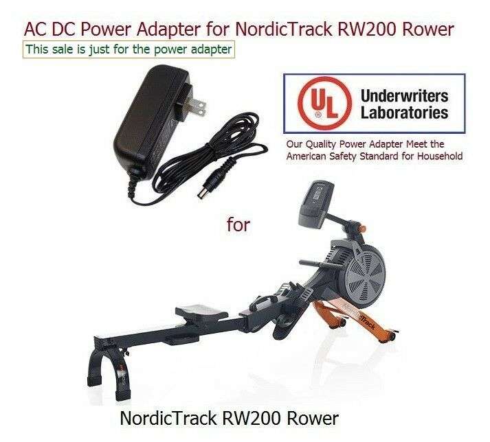 AC DC Power Adapter Power Supply For NordicTrack RW200