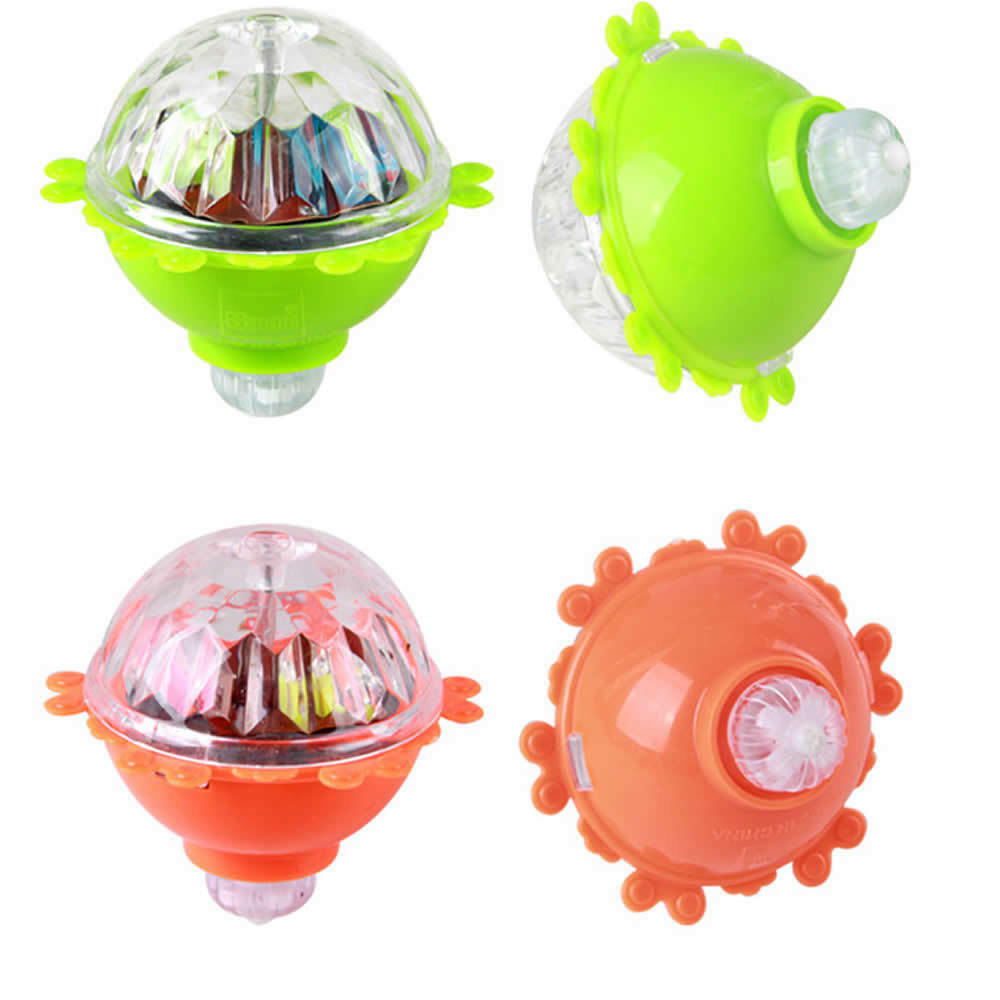 New Spin Toys : Toy new top light peg spinner spinning kids flash gyro