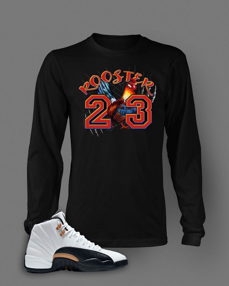 3cebade7 Details about 23 T Shirt to Match Jordan CHINESE NEW YEAR Shoe Rooster  Graphic Tee Pro Club