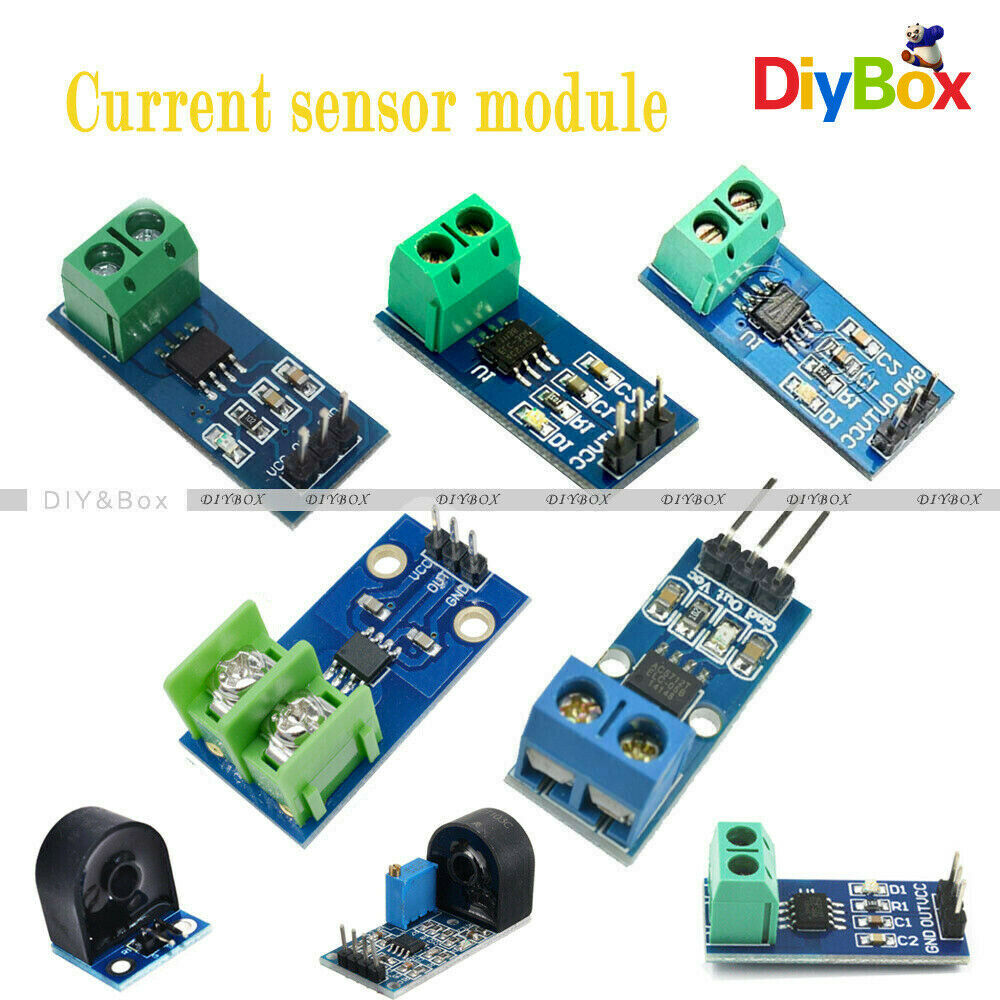 5a 20a 30a Range Current Sensor Module Acs712 714 For Arduino How To Build A Circuit Raspberry Pi Uno Ebay