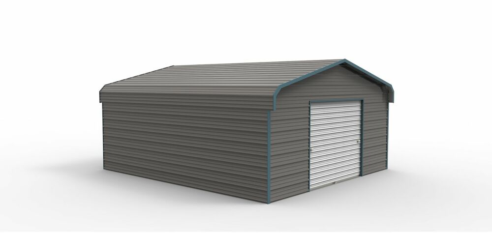 12 x 21 enclosed metal carport cover garage installed view our ebay store