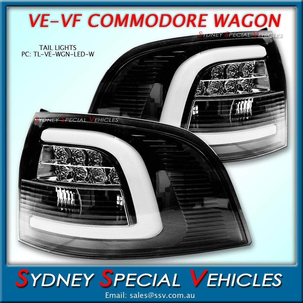 Wagon Wheel Lights Ebay: LED TAIL LIGHTS FOR VE VF COMMODORE SPORTWAGON WAGON
