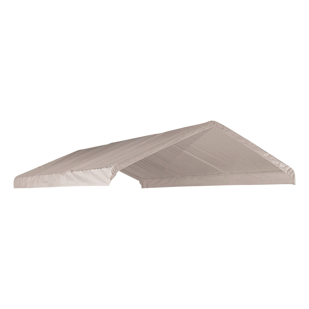 Heavy Duty Valance Replacement Canopy Tarp Carport Cover ...