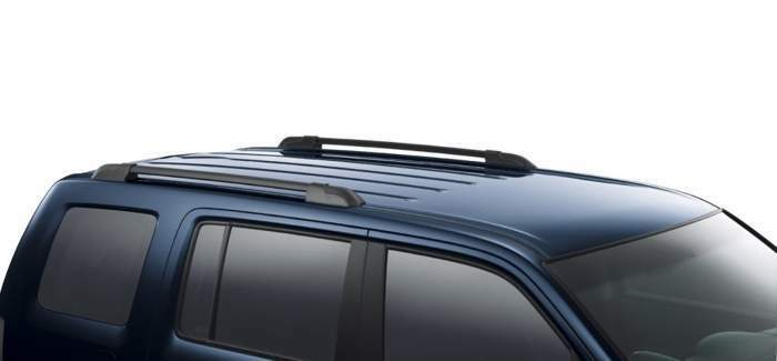 fit for 2009 2015 honda pilot roof rack side rails set. Black Bedroom Furniture Sets. Home Design Ideas