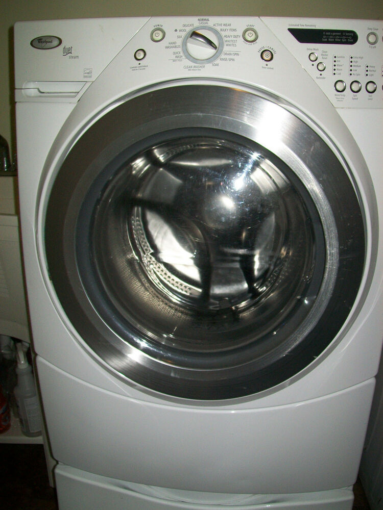 how to use whirlpool washing machine front load