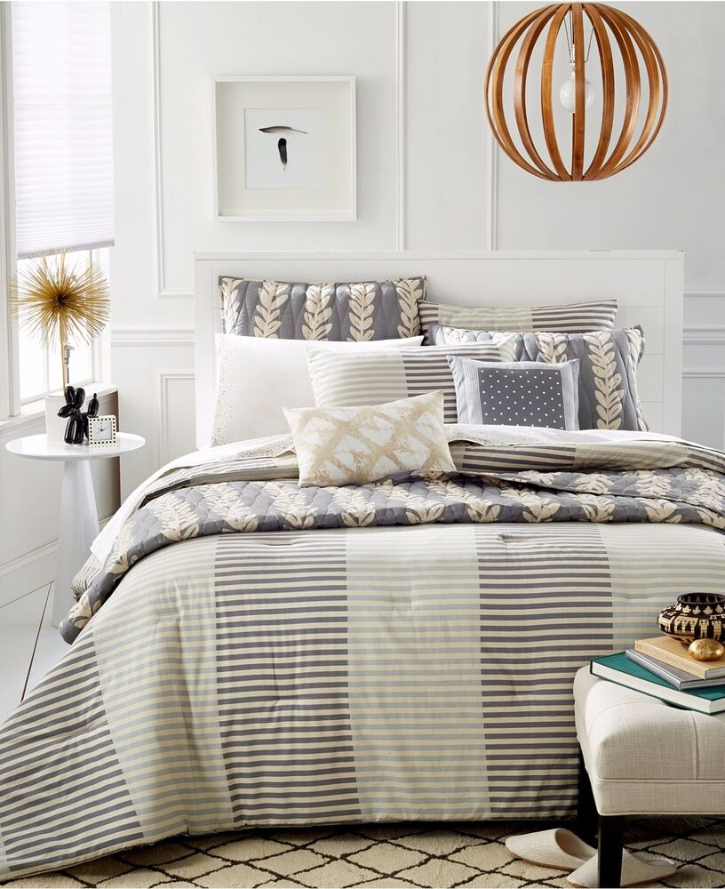 Martha Stewart Bedding Whim Two Tone Stripe Twin Twin Xl