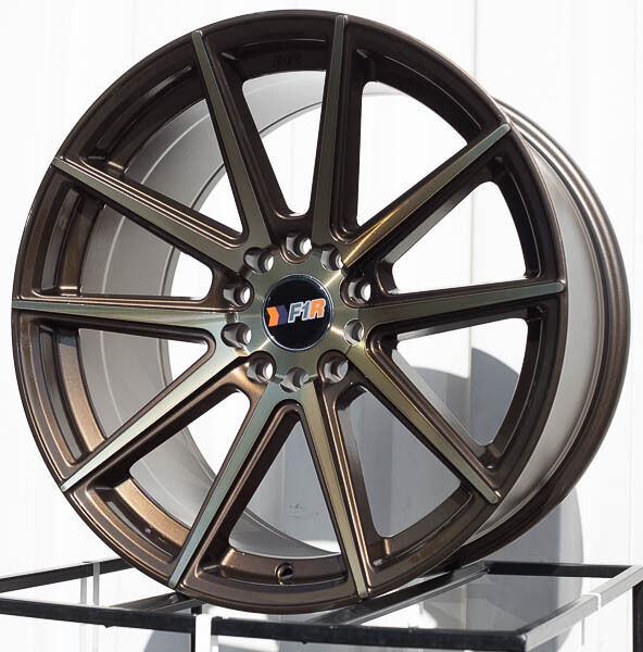18x9 5 38 F1r F27 5x114 3 5x120 Bronze Wheels Fits Bmw