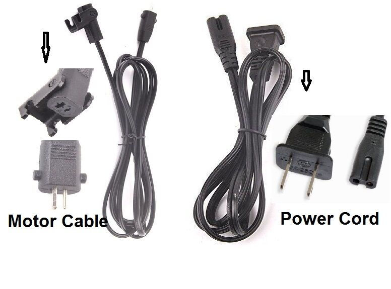 Lift Chair Recliner Ac Power Cord And Motor Cable For