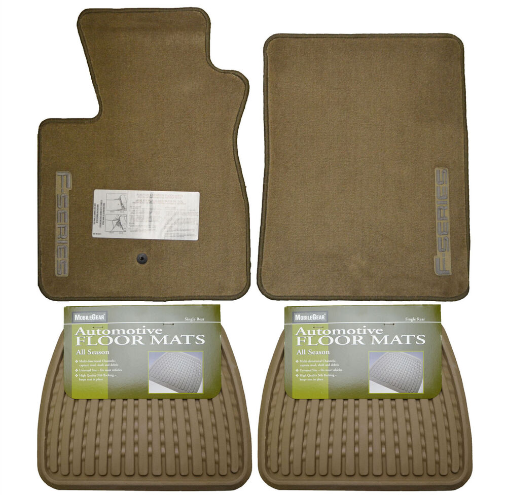 Ford F 150 Floor Mats: New Ford F-150 Floor Mats Oem Set Front W/ Rear All