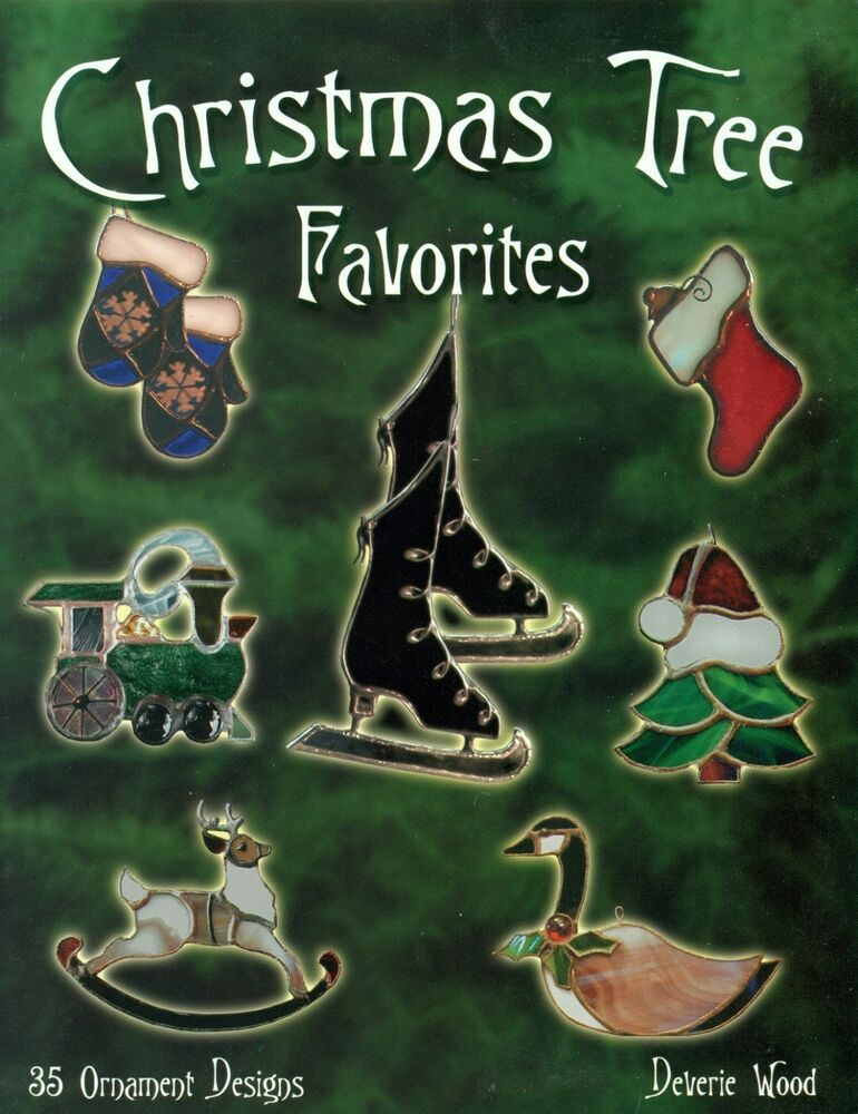 Christmas Tree Favorites Stained Glass Pattern Book ...