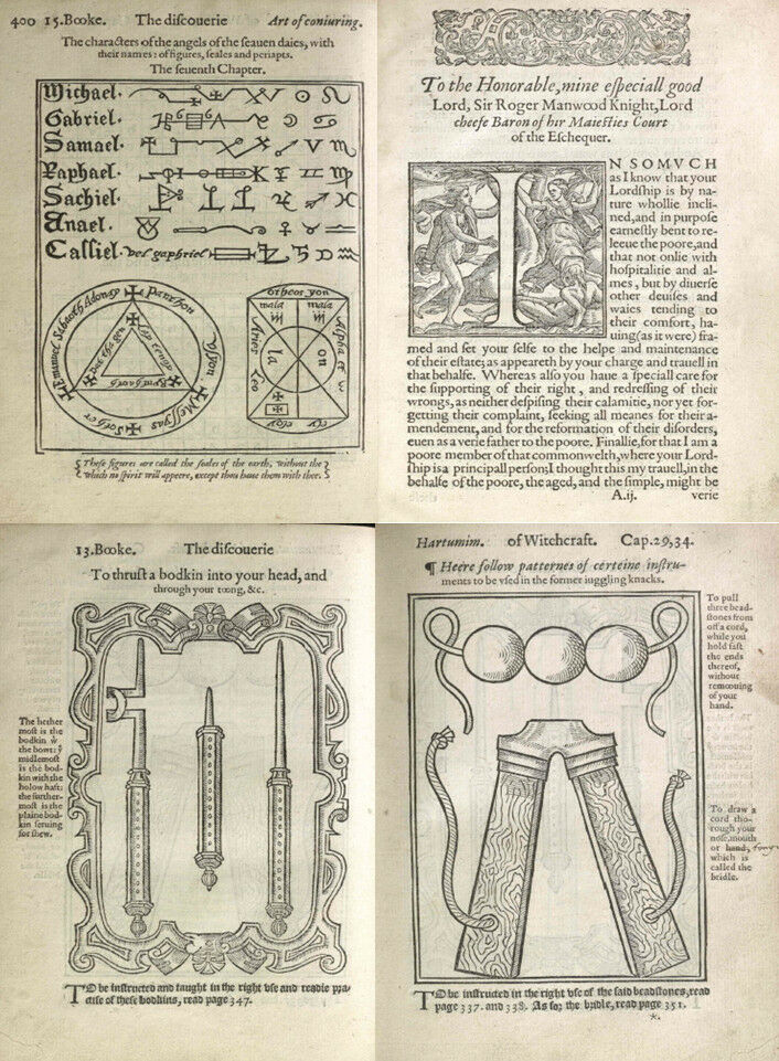 THE DISCOVERY OF WITCHCRAFT, FIRST (1584) SECOND (1651) & (1881) EDITIONS  ON DVD   eBay