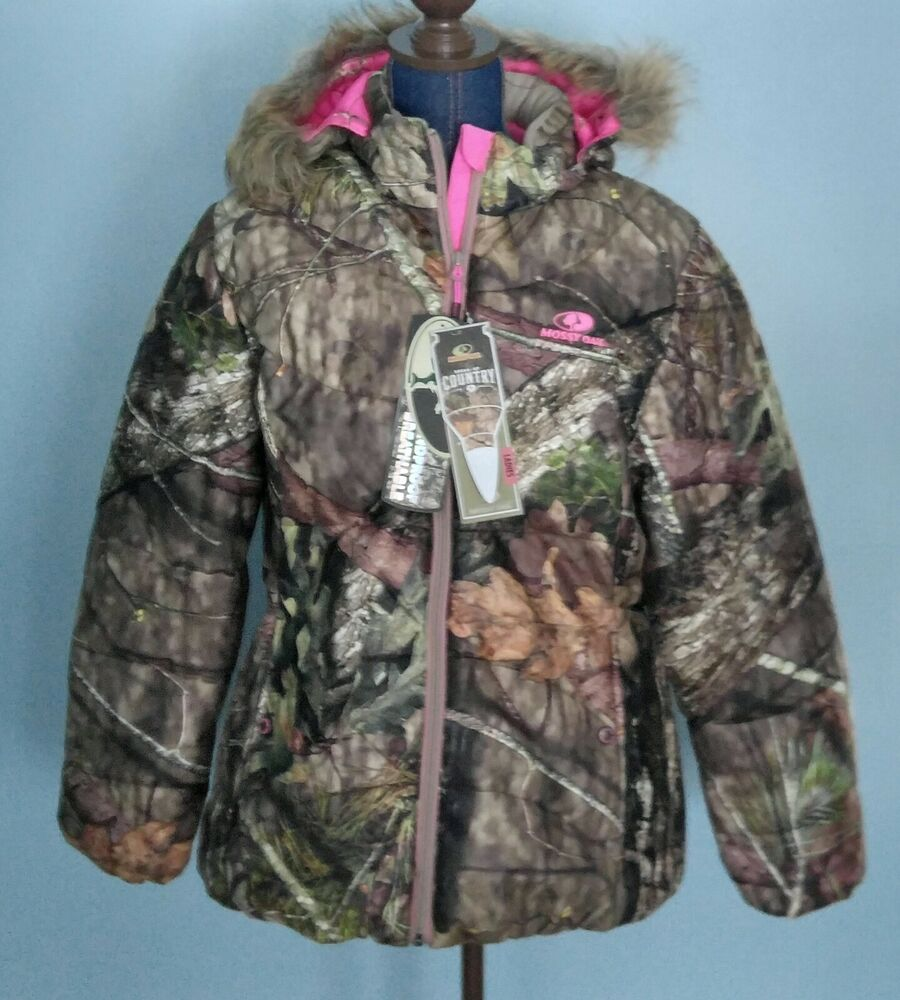Half Jacket 2 0 >> Mossy Oak Camo Bubble Jacket Fur Trim Hood Pink Insulated ...
