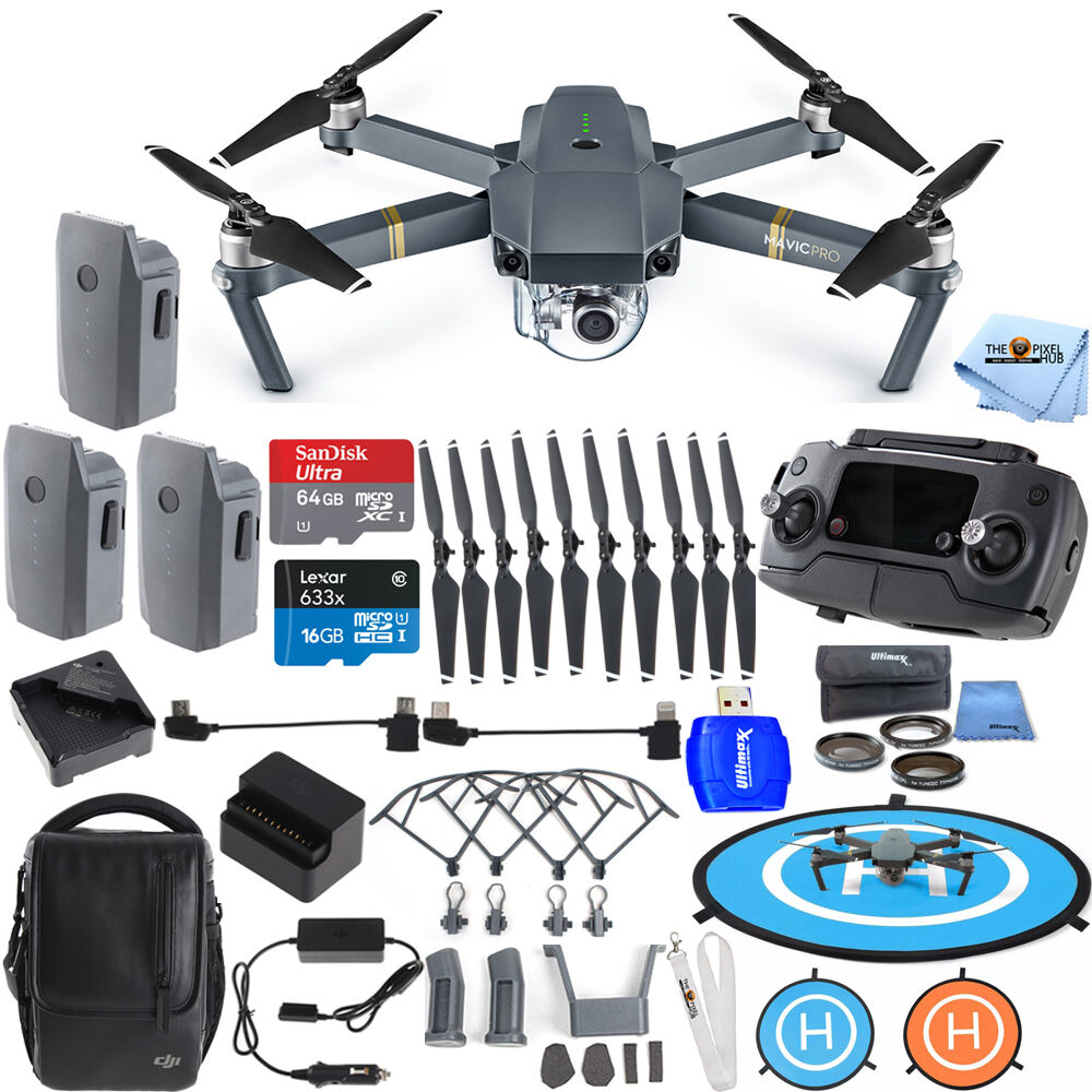 dji mavic pro fly more 3 battery combo bundle brand new. Black Bedroom Furniture Sets. Home Design Ideas