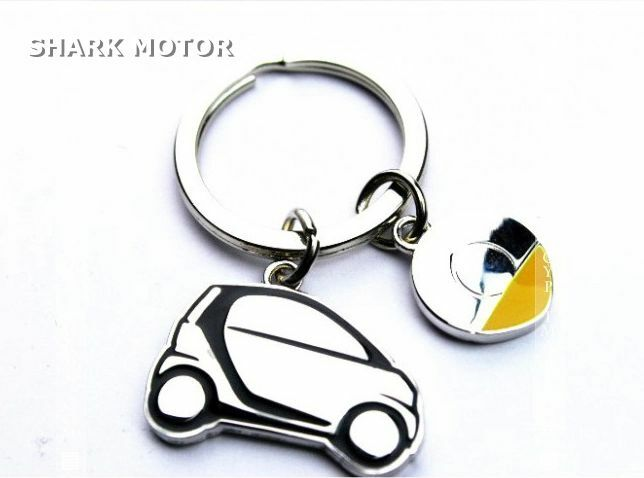 stainless steel smart car key chain smart fortwo 451 ebay. Black Bedroom Furniture Sets. Home Design Ideas