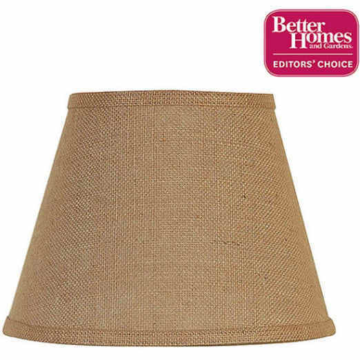 Jute Ceiling Lamp Shade: Better Homes And Gardens Accent Lamp Shade, Burlap Table
