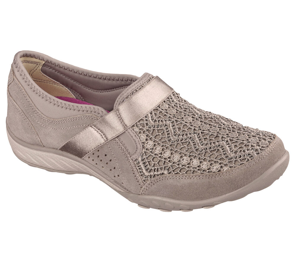 Skechers Relaxed Fit Breathe Easy Our Song Women S Slip On Shoes