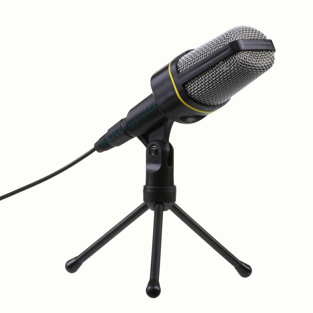 Professional 3 5mm Studio Microphone Mic With Stand For