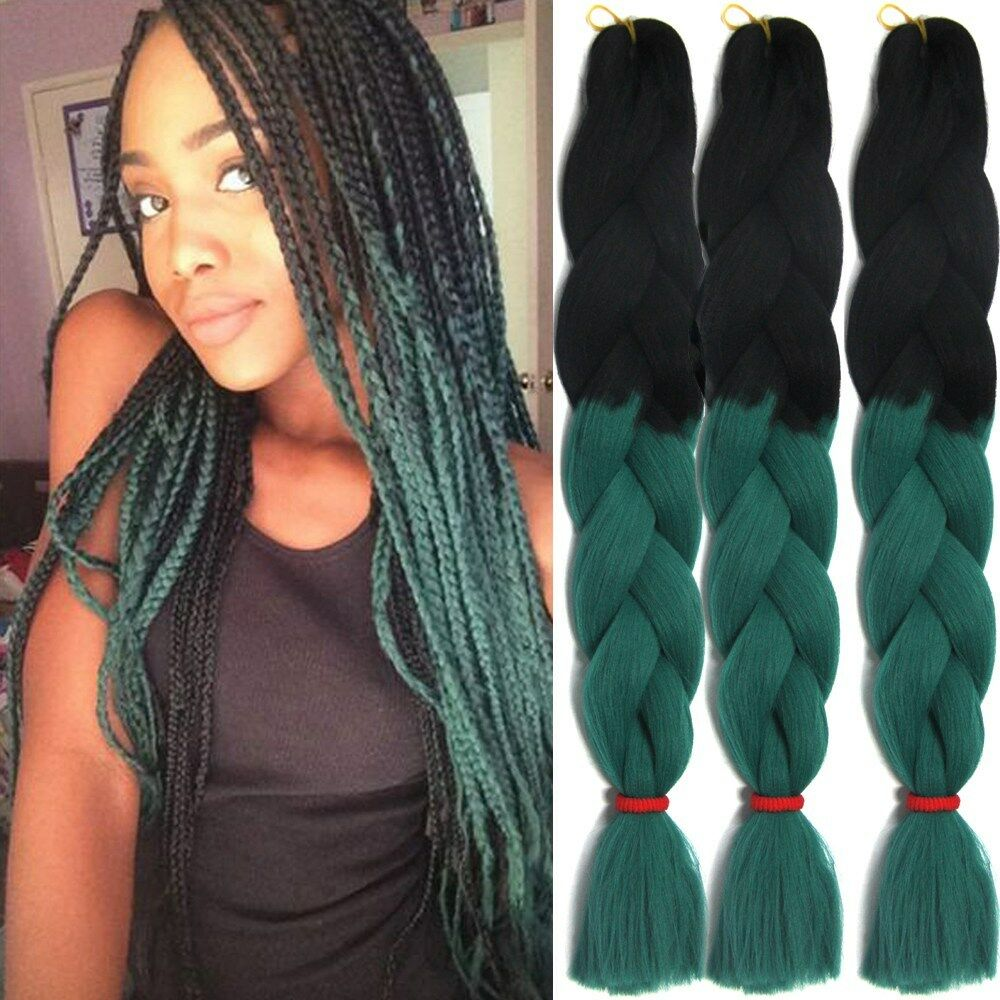braid styles with synthetic hair 24 kanekalon jumbo braiding synthetic twist braids hair 8076 | s l1000