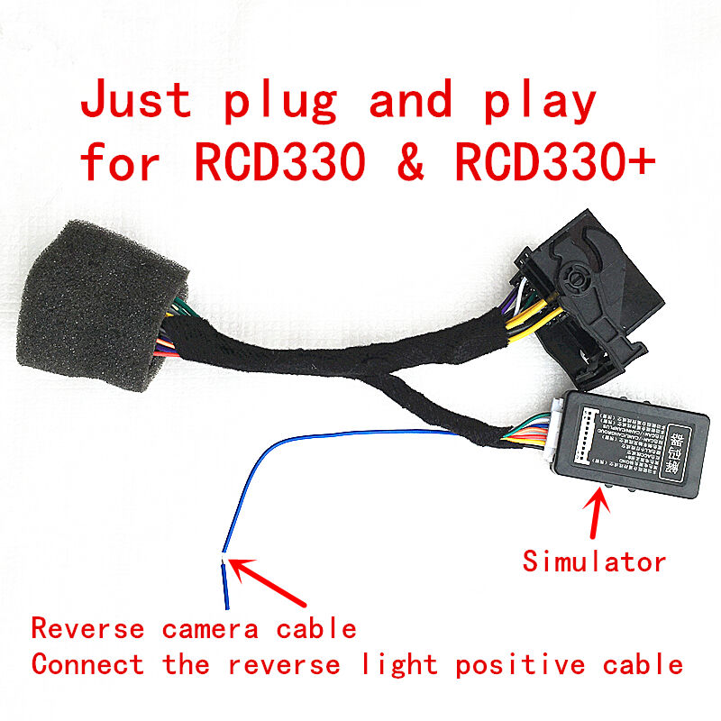 rcd330 plus plug play iso quadlock adapter with canbus. Black Bedroom Furniture Sets. Home Design Ideas
