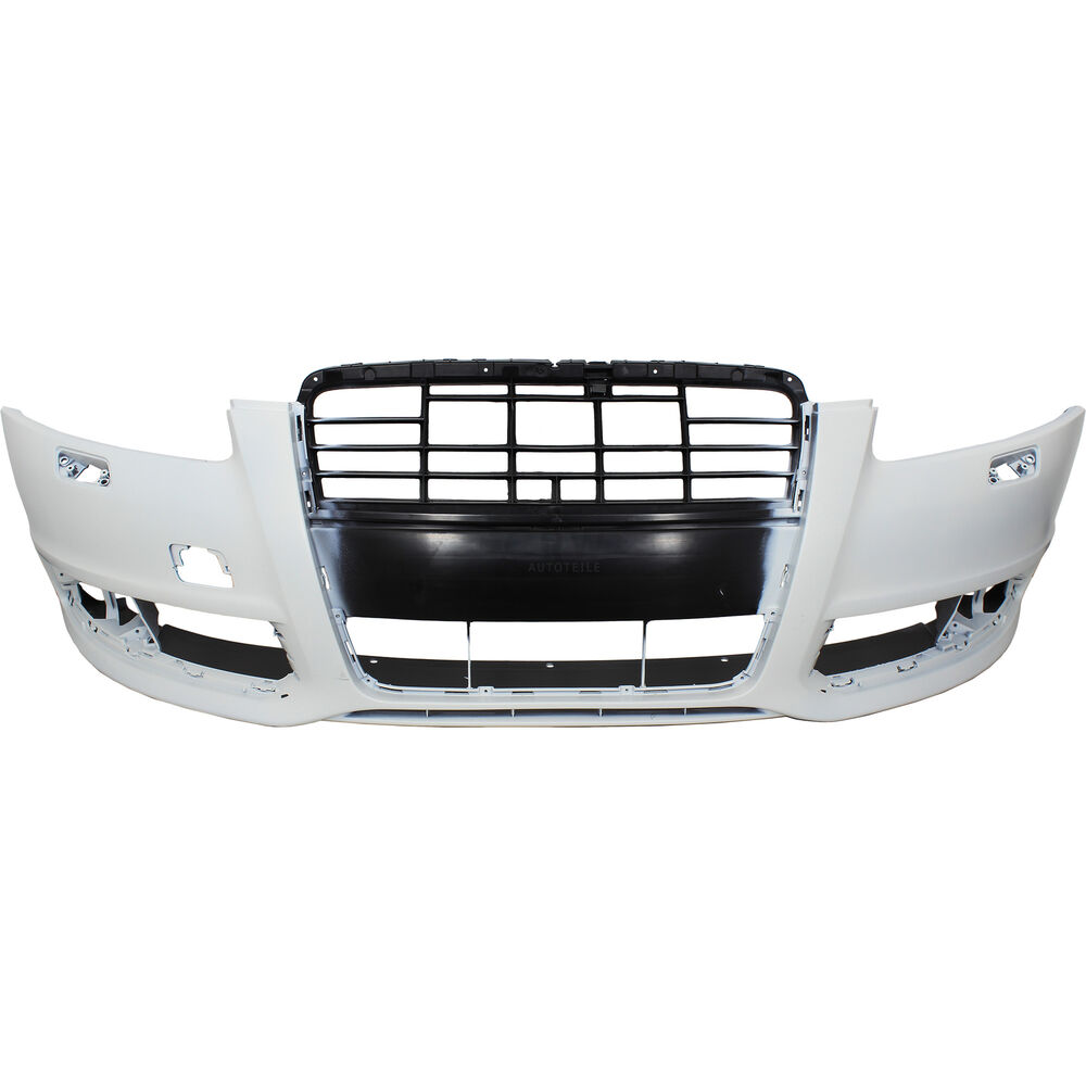 Bumper Front For Audi A6(4F2) Built 08/2008-03/2011 Primed