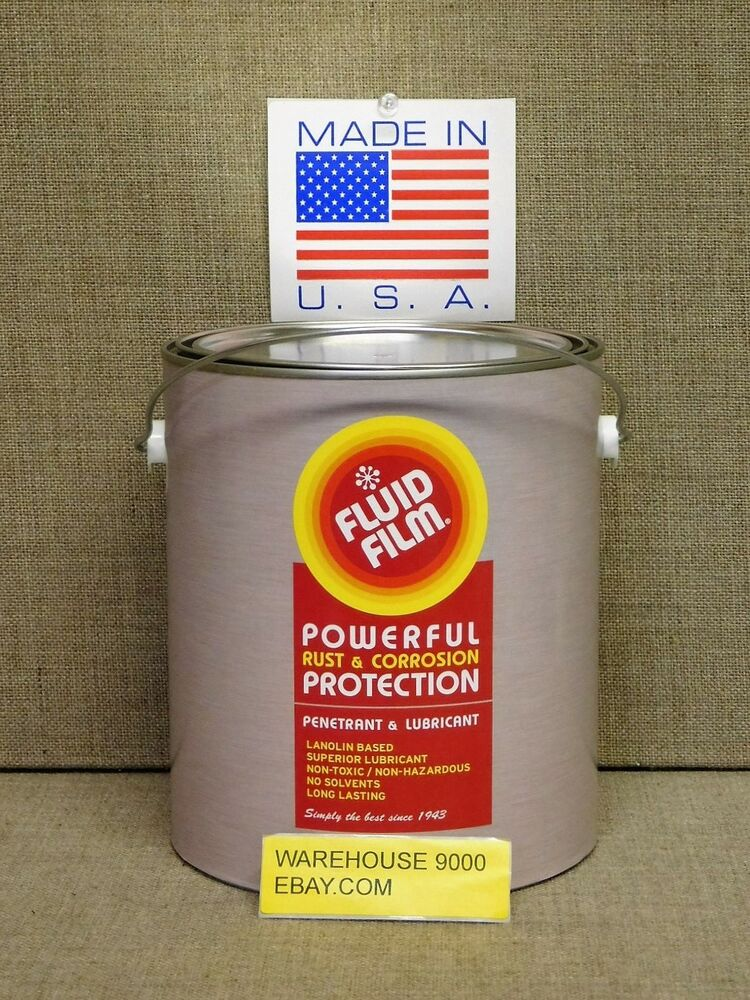 1 gallon fluid film nas undercoat rustproofing usa made. Black Bedroom Furniture Sets. Home Design Ideas