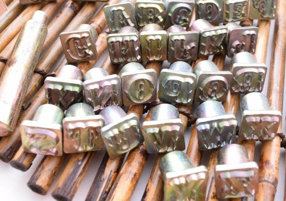 Leather Stamp 1 2 Quot Tandy Craftool Alphabet Set Single Replacement Letter Ebay