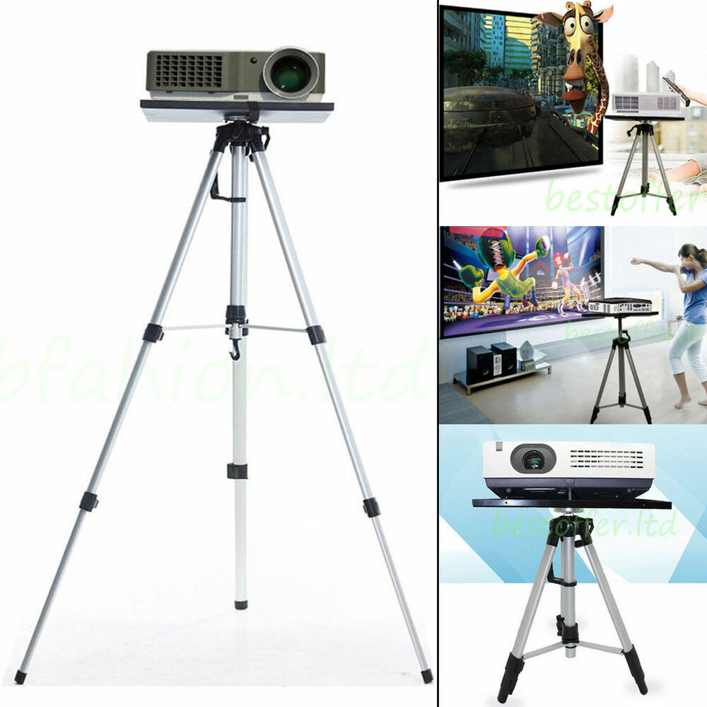 Height Adjustable Laptop Projector Stand Mount Tripod For Presentations Theatre Ebay