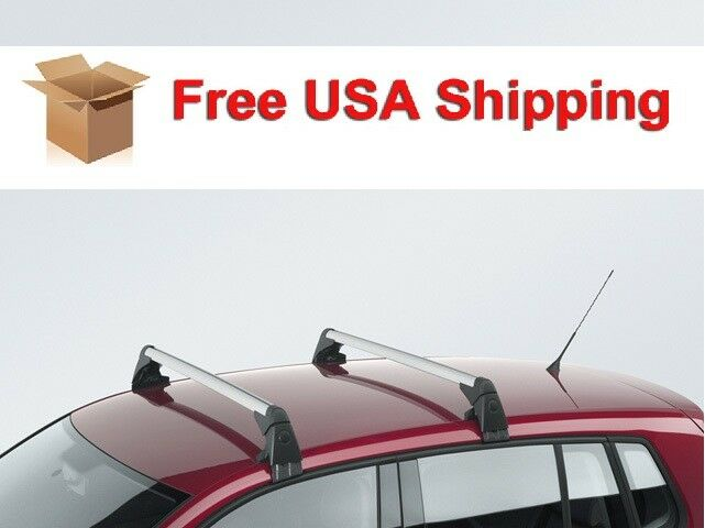 oem vw volkswagen tiguan roof rack base carrier bars. Black Bedroom Furniture Sets. Home Design Ideas
