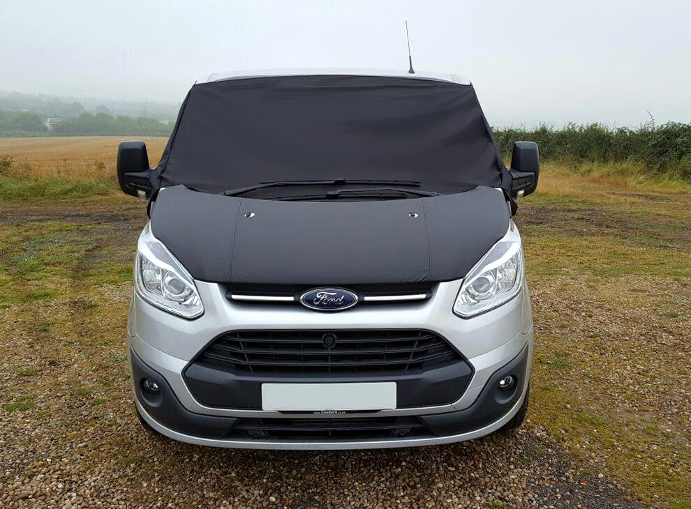 Ford Transit Custom Front Window Screen Cover Black Out