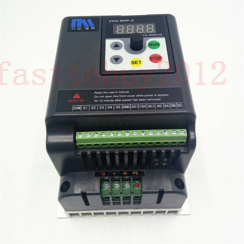 7 5hp 380v vfd 3 phase motor speed control 12 6a for Vfd for 5hp motor