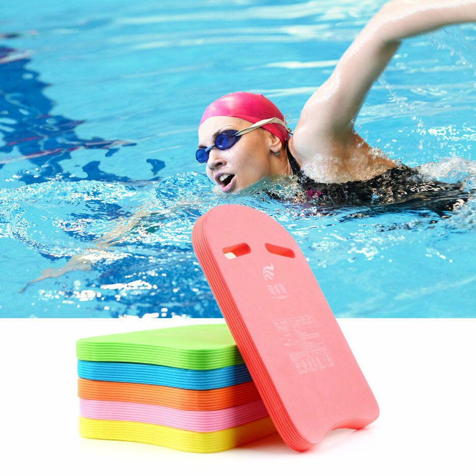 Swimming swim kickboard kids adults safe pool training aid float board foam ow ebay for Swimming pool certification course