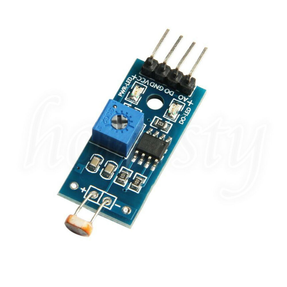 Ldr photoresistor light detection sensor