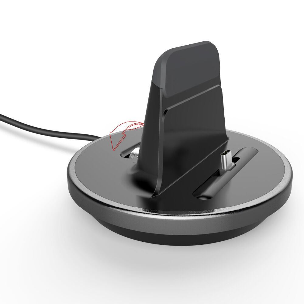 Magnetic car phone holder wireless charger 10