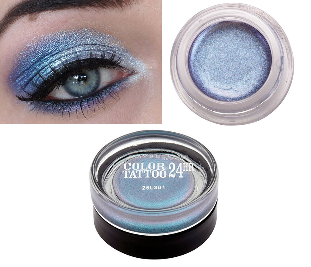Maybelline color tattoo 24hr eye shadow smooth cream gel for Color tattoo maybelline