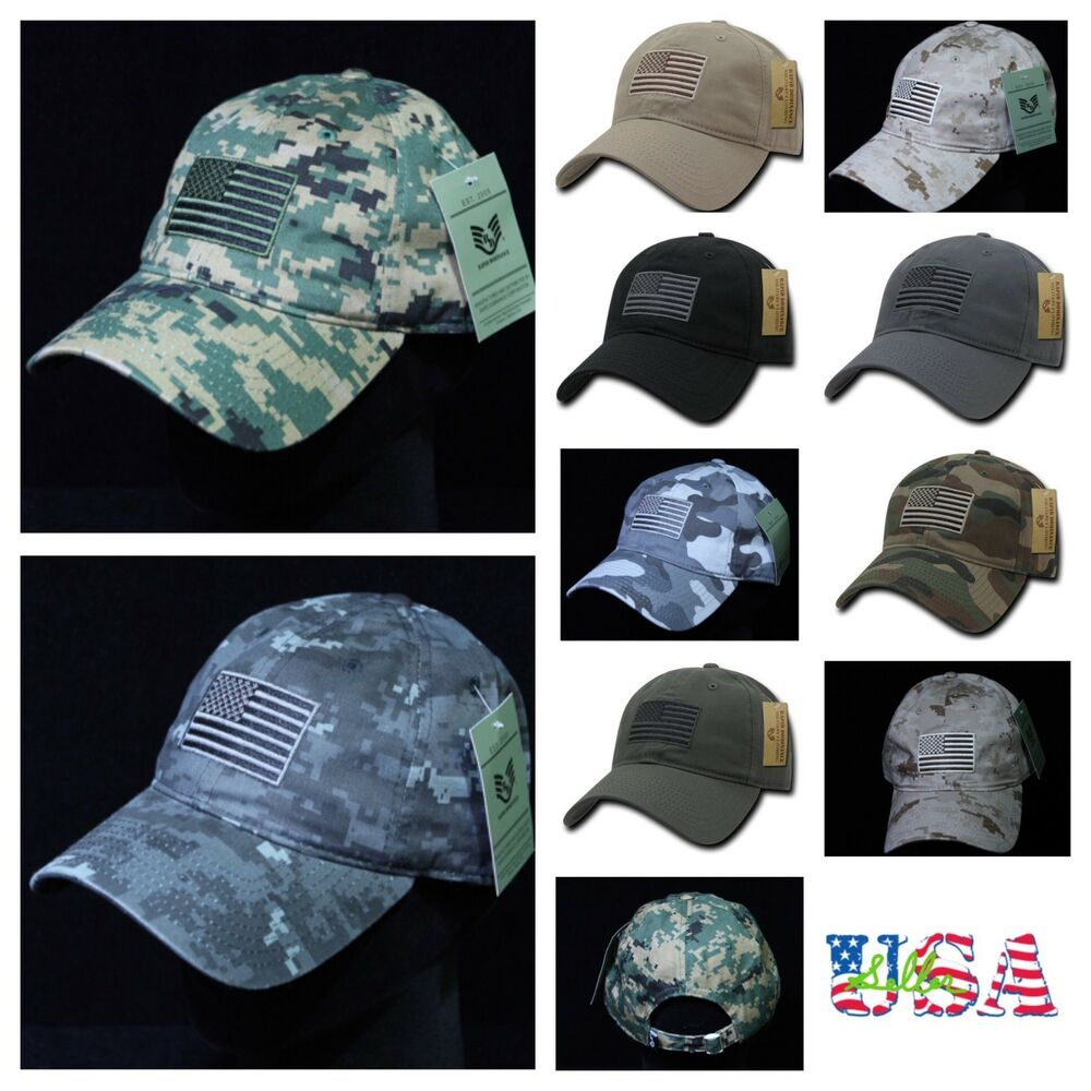 72e50bde198 Details about Baseball Cap U.S.Flag Trucker Fashion Camo Army Military  Tactical Hunting Hats
