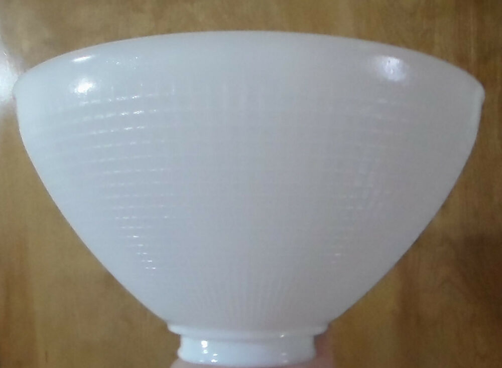 White milk glass 2 7 8quot x 10 floor table oil lamp ies for 8 inch glass floor lamp reflector shade glass