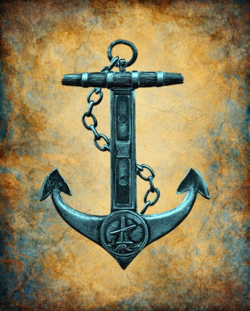 Exelent Large Anchor Wall Decor Collection - Wall Art Collections ...