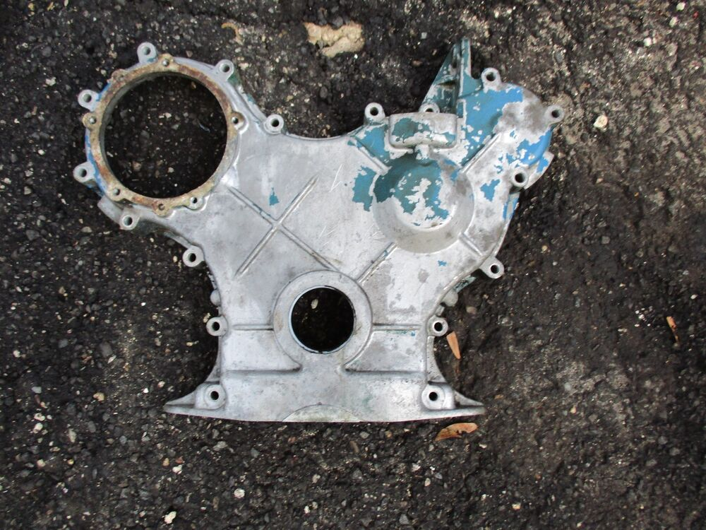 Ford 3000 Engine : Ford  tractor cylinder gas engine timing cover