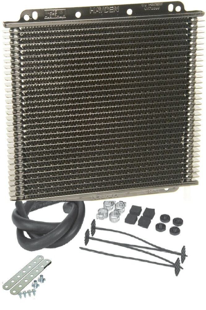 Hayden Transmission Oil Cooler : Hayden coolers transmission rapid cool