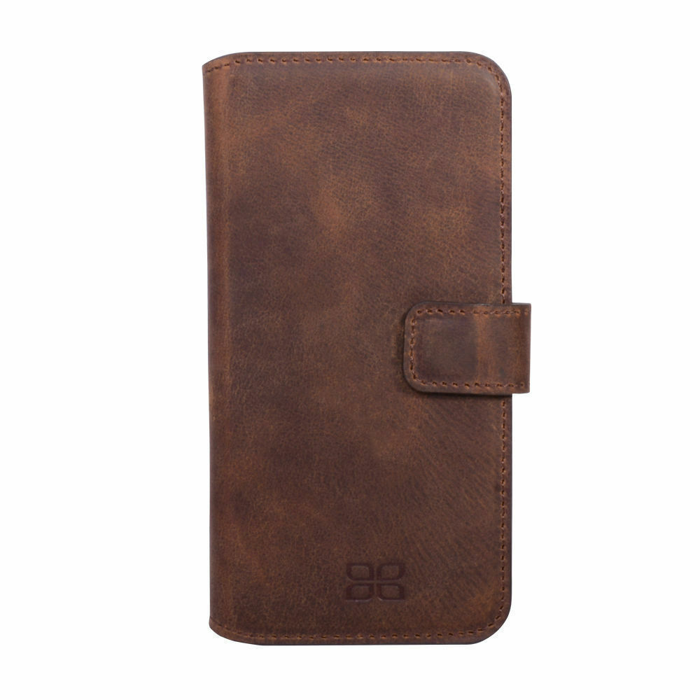 Cases, Covers & Skins Bouletta Leather Wallet Case For Samsung Galaxy S6 Antic Brown G2 H1891