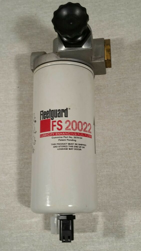 Fleetguard Fs20022 Fuel Water Separator With Housing