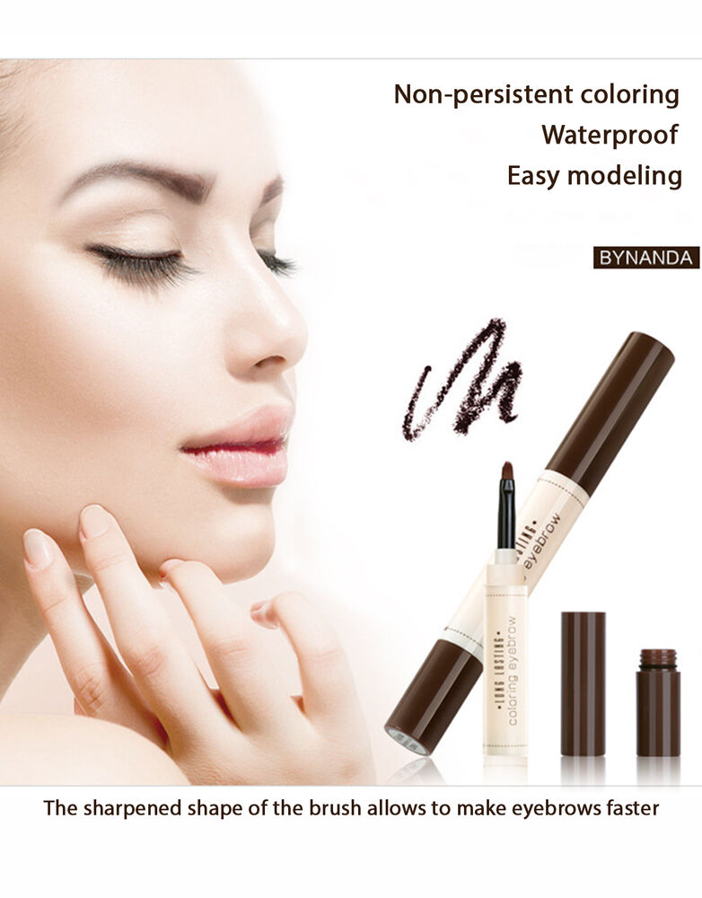 BY NANDA Long Lasting Eyebrows Tint Coloring Pencil Brush ...