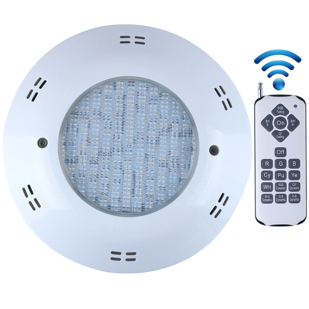 Rgb Remote Wall Mounted Swimming Led Pool Lights Ip68 Waterproof Ac12v 18w 25w Ebay