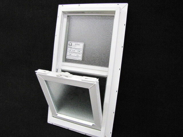Mobile home window obscured glass 14x27 insulated for 12x18 shed window
