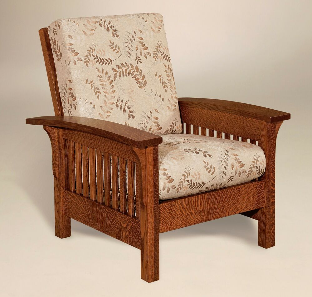 Arts Crafts Chair Leather